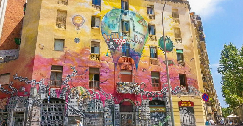 Barcelona Graffiti Street Art