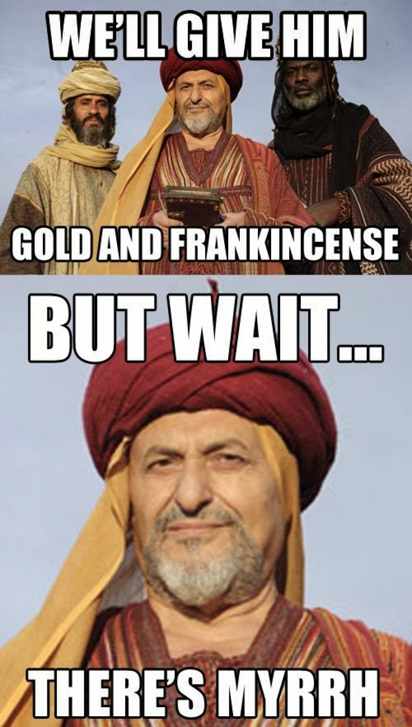Meme about the Three Kings