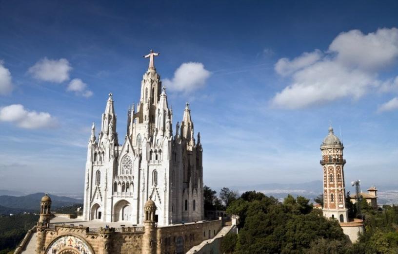 Chiesa del Tibidabo a Barcellona
