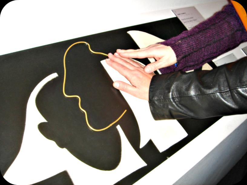 Konstverk i punktskrift i Barcelona