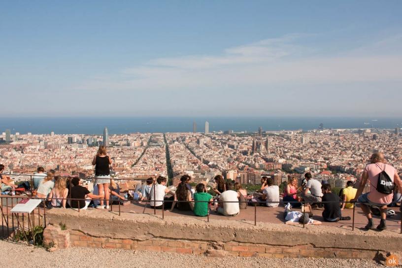 Turó de la Rovira Barcelona