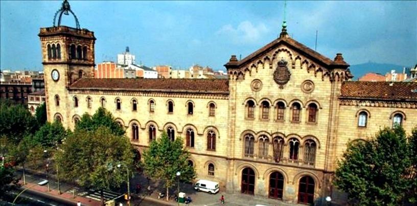 Здание университета Барселоны