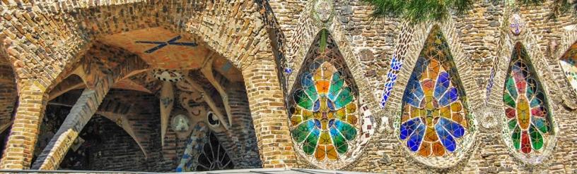 vidriera Colonia Guell