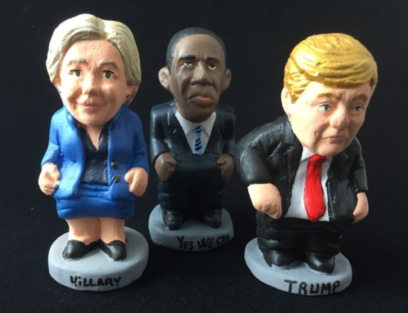 Caganers Donald Trump