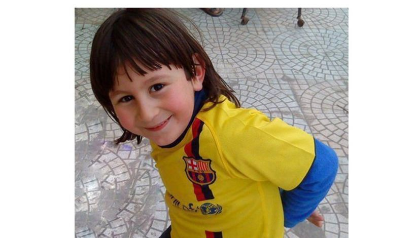 Messi when he was younger