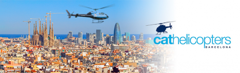 Sobrevuela Barcelona en Helicóptero !