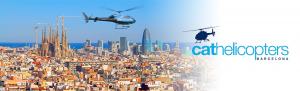 Пари над Барселоной на вертолете