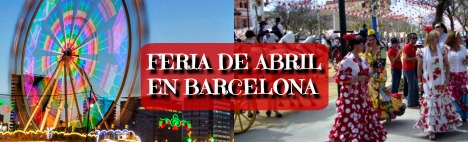 Catalonia April Fair in Barcelona