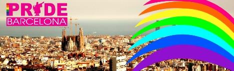 Гей парад в Барселоне 2016