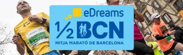 Halvmarathon i Barcelona