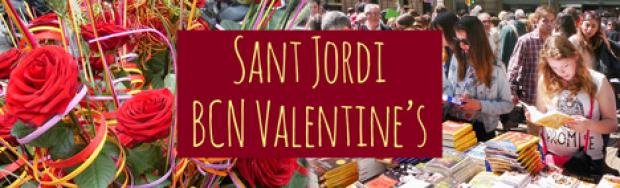 Diada de Sant Jordi, kärlekens dag i Katalonien