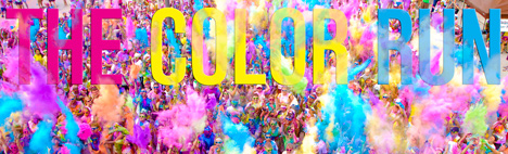 The Color Run Барселона 2017