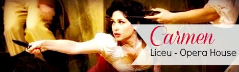 Carmen im Liceu Opernhaus