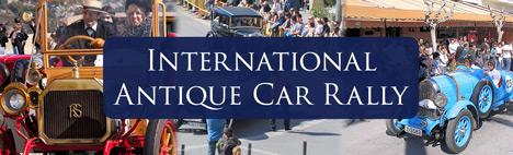 Rally Internacional des voitures antiques á Barcelona