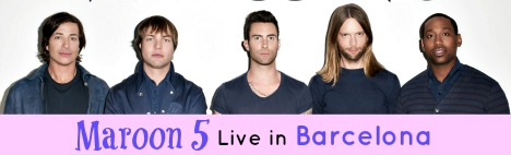 Maroon 5 live in Barcelona