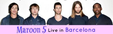Maroon 5 live in Barcelona