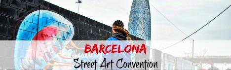 ÚS Barcelona - Konwencja graffiti