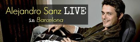 Alejandro Sanz en concert !
