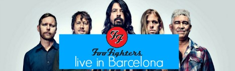 Foo Fighters à Barcelone !