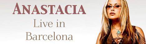 Anastacia live at Barcelona's L'Auditori!