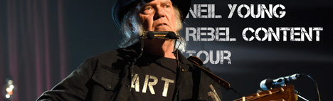 Neil Young in concerto a Barcellona