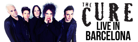 The Cure en concierto a Barcelona en 2016!