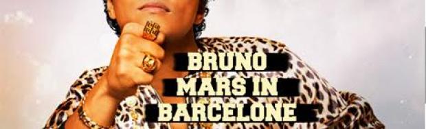 Bruno Mars Concert 2017 in Barcelona