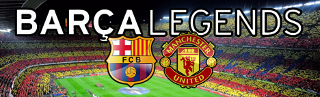 Barça VS Manchester United — The Legends