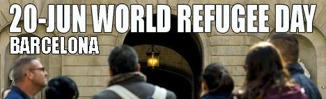 Barcellona e la Giornata Mondiale del Rifugiato