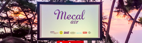 Cinéma à l'air libre Mecal Air