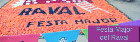 La Fiesta Mayor del Quartiere del Raval di Barcellona