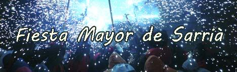 Fiesta Mayor de Sarrià