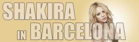 Shakira in concerto a Barcellona