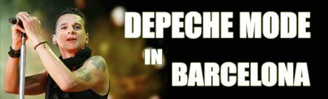 Depeche Mode en concierto en Barcelona
