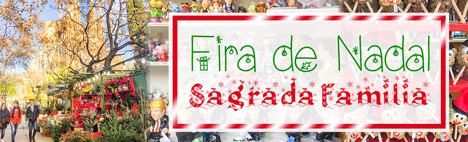 La Feria de Navidad de la Sagrada Família