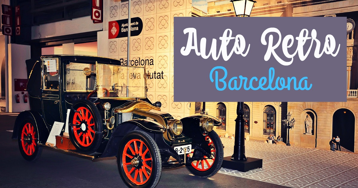 Auto Retro Barcelona 2015
