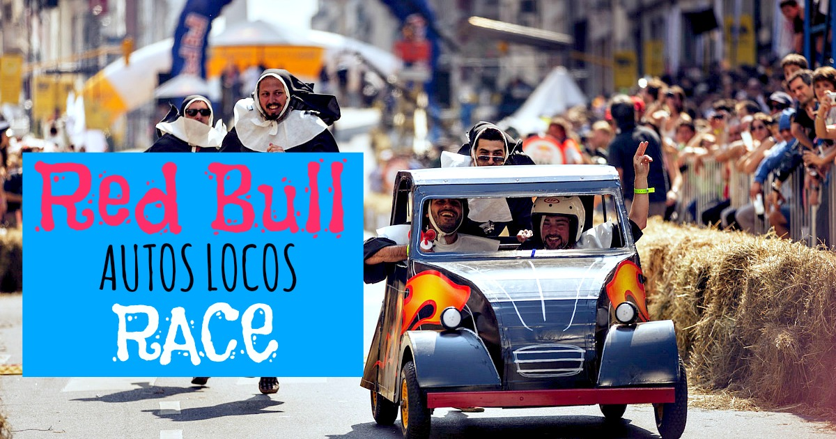 Red Bull Autos Locos 2015