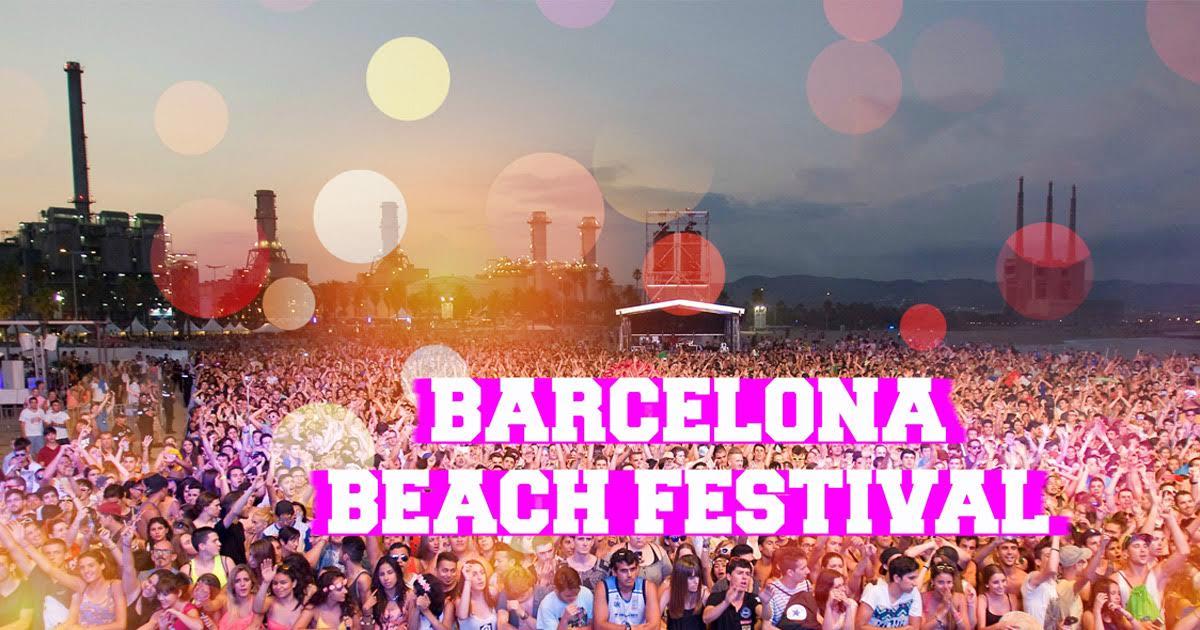Barcelona Beach Festival, Il Festival Elettronico.