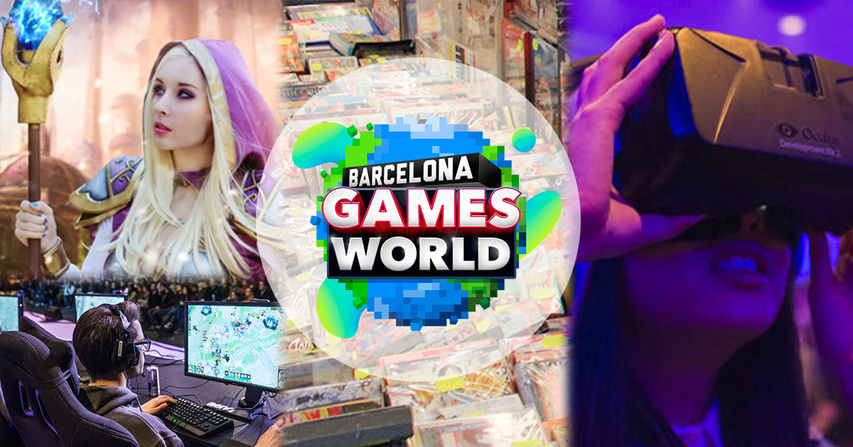 Barcelona Games World 2016