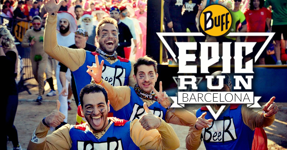 Buff Epic Run Barcelone 2016