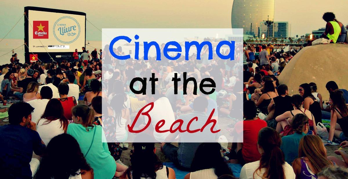 Cine libre en la playa de Barcelona 2018