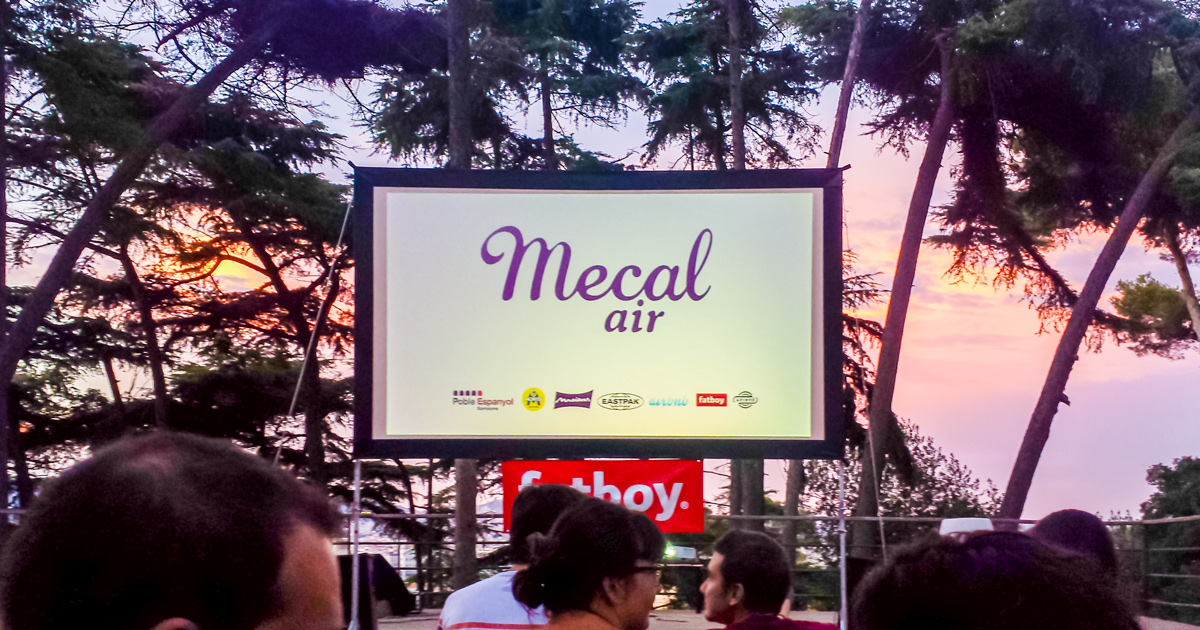 Mecal Air: cinema all'aperto