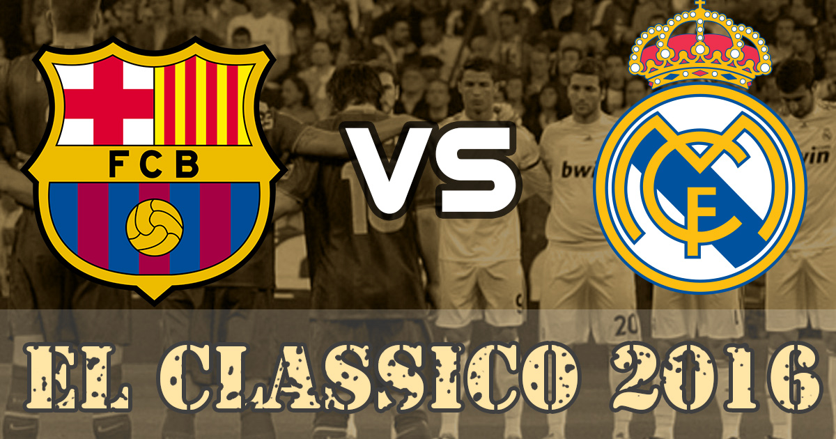 fc barcelona real madrid el clasico 16 at camp nou
