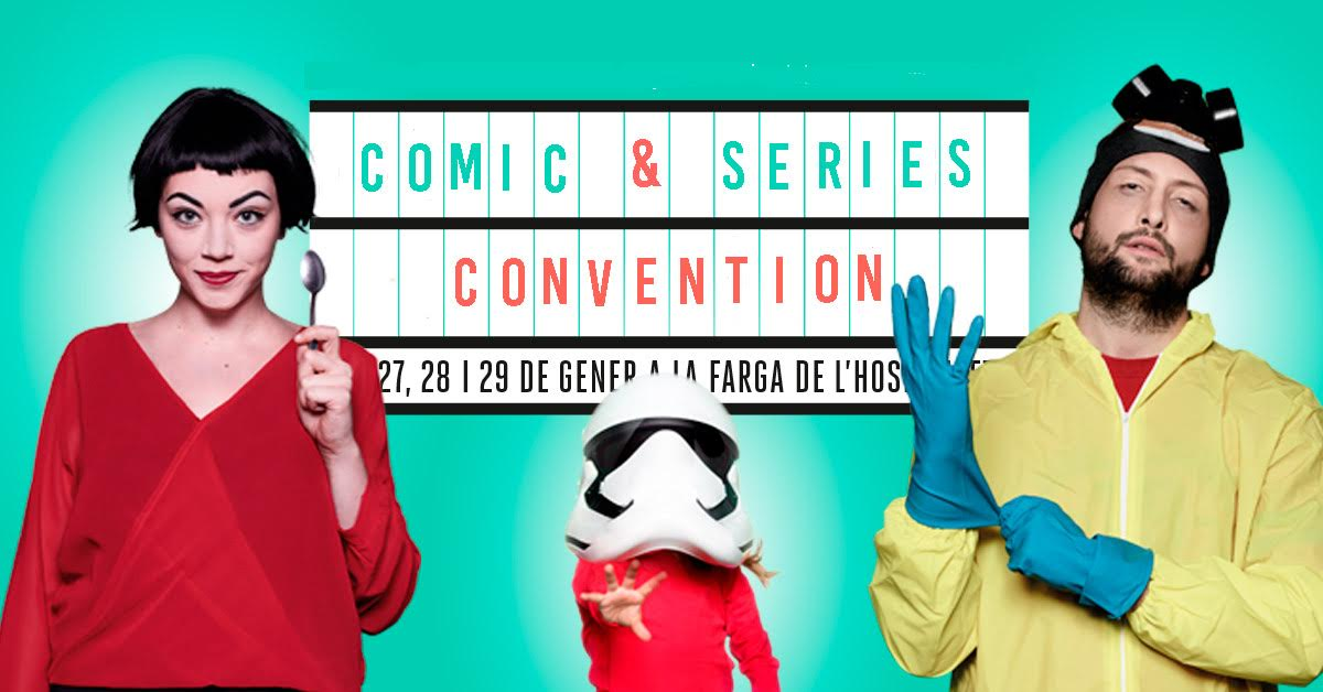 Cinema and Series Convention Barcelona 2018