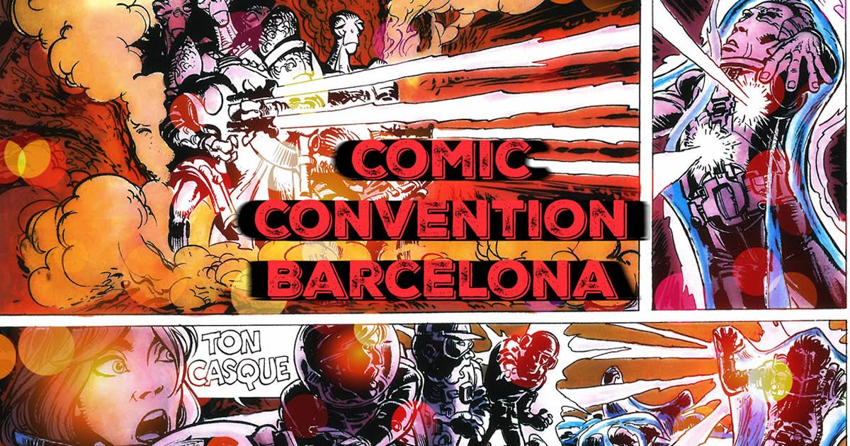 34th Barcelona Comic Convention