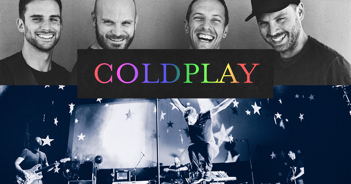 Coldplay concert Barce...
