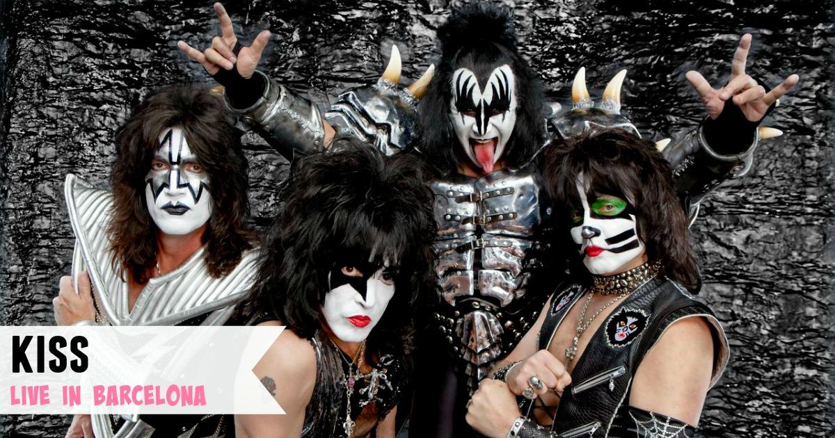 Kiss Konzert in Barcelona