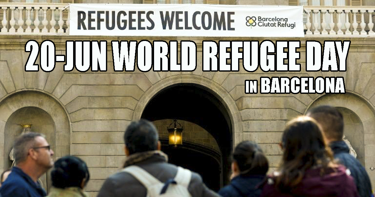 Barcelona and World Refugee Day