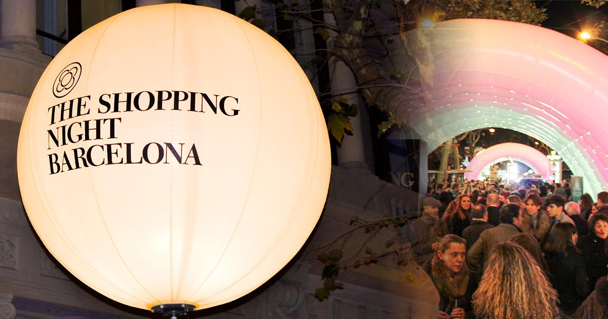 The Shopping Night Barcelona 2018