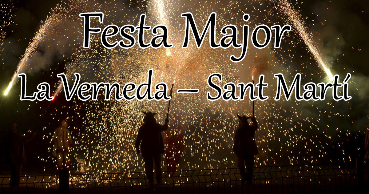 Festa Major Sant Martí 2018